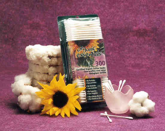 Organic Essentials Cotton Swabs